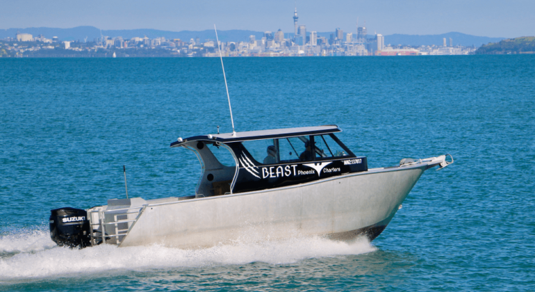 Auckland Fishing Charter Vessel Beast
