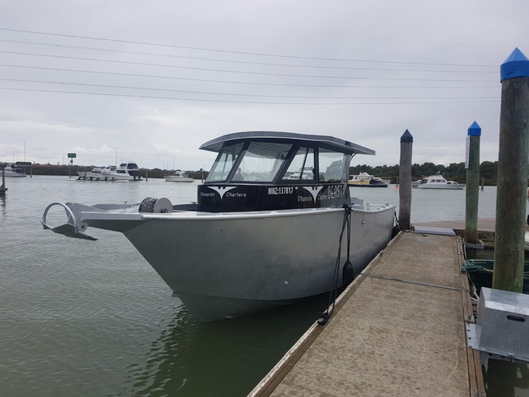 Auckland Fishing Charter Weapon