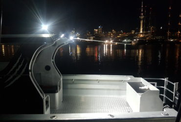 Huge Cockpit Area with Ample Lighting for Night Fishing