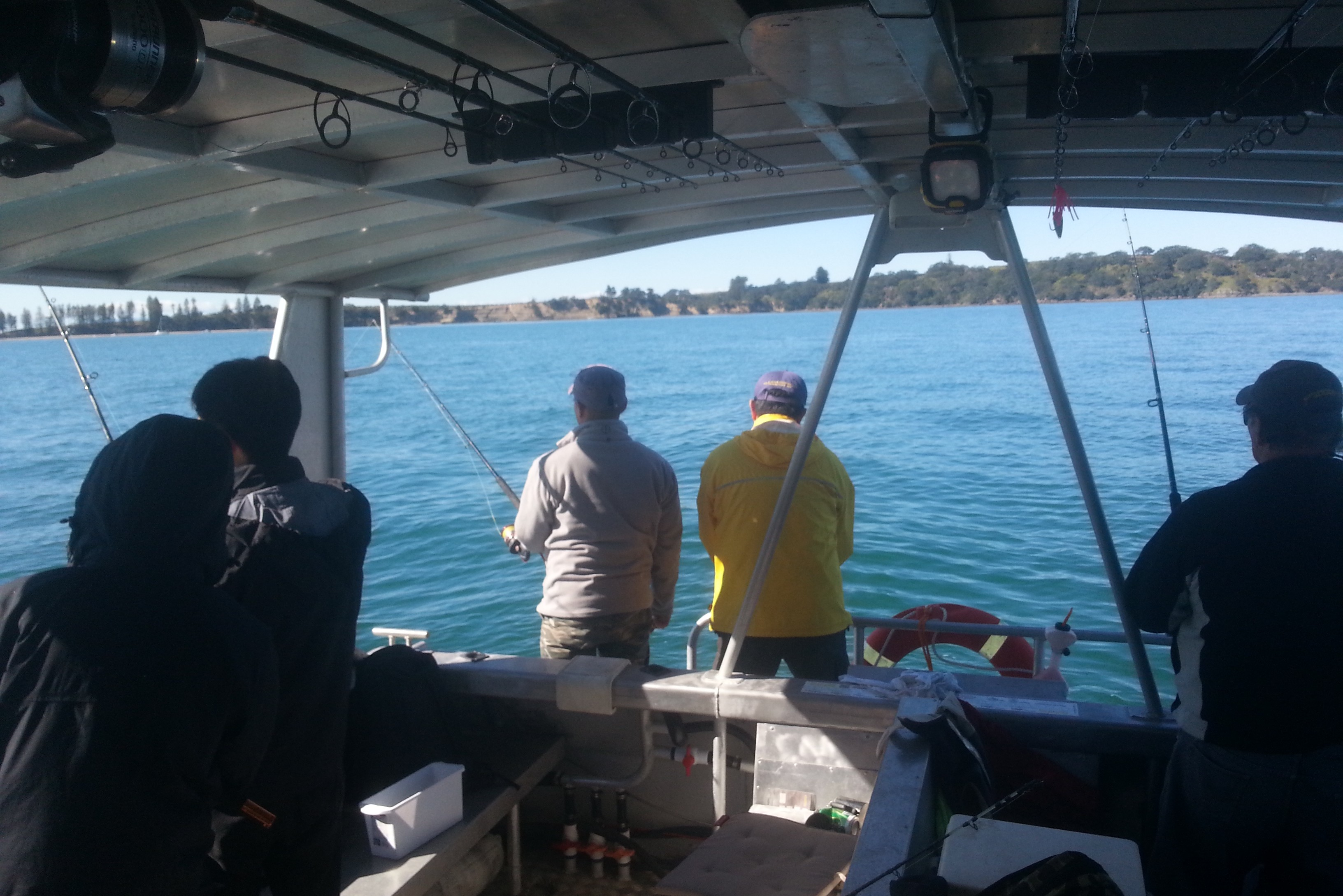 Private group fishing charters auckland book the whole for Fishing charters auckland