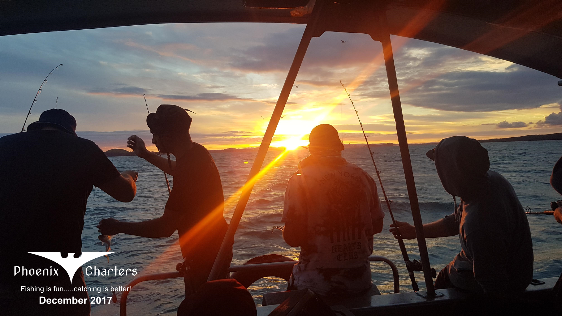 Book your next fishing charter with Phoenix Charters
